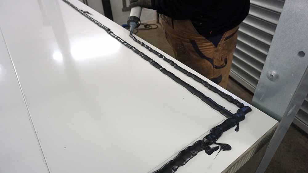Kühlschrank Dämmung Aufbau : Aufbau des steyr wanderer